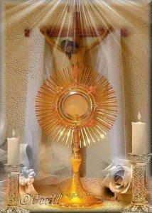 L'Eucharistie nous conduit au Magnificat dans Vierge Marie notre Dame du Refuge jesus2-214x300